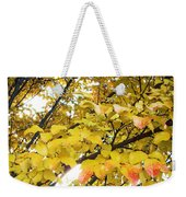 Autumns Gold Weekender Tote Bag