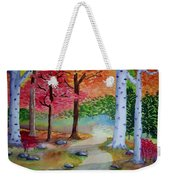 Autumn's Invitation Weekender Tote Bag