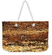 Autumns Mallards Weekender Tote Bag