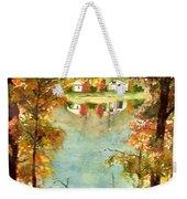 Autumn's Peaceful Abode  Weekender Tote Bag