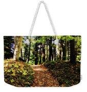 Autumn's Trail Weekender Tote Bag