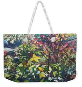 Autumn's View Weekender Tote Bag