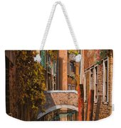 autunno a Venezia Weekender Tote Bag by Guido Borelli