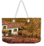 Autunno Rosso Weekender Tote Bag