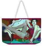 Ava Gardner - Pop Art Weekender Tote Bag
