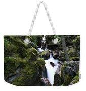 Avalanche Gorge Glacier National Park Weekender Tote Bag