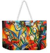 Avant-garde Jazz Weekender Tote Bag