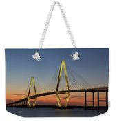 Avenell Bridge Sunset Weekender Tote Bag