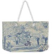 Avenue In A Park Arles, May 1888 Vincent Van Gogh 1853 - 1890 Weekender Tote Bag