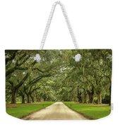 Avenue Of The Oaks Weekender Tote Bag