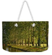 Avenue Of Trees On The Kennet And Avon Canal Weekender Tote Bag