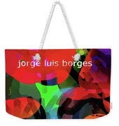Averroes's Search Borges Poster Weekender Tote Bag