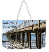Avila Pier Avila Beach California Weekender Tote Bag