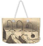 Avis Aux Amateurs Weekender Tote Bag