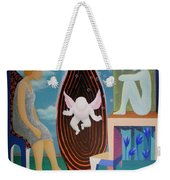 Await Weekender Tote Bag