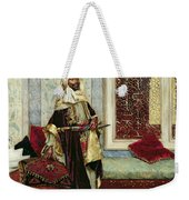 Awaiting An Audience Weekender Tote Bag by Rudolphe Ernst