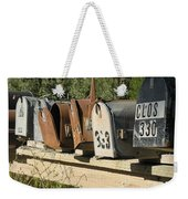 Awaiting Mail  Weekender Tote Bag