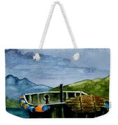 Awaiting The Season Weekender Tote Bag