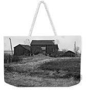 Awaiting Winter Weekender Tote Bag