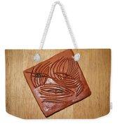Awaits - Tile Weekender Tote Bag