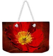 Awake To Red Weekender Tote Bag