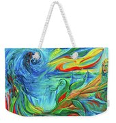 Awaken The Eagle Weekender Tote Bag