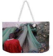 Awash In Nets Weekender Tote Bag by Wayne King