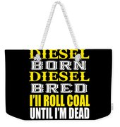 Awesome Diesel Design Born And Bred Weekender Tote Bag