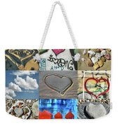 Awesome Hearts - Collage Weekender Tote Bag