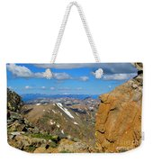 Awesome View From The Mount Massive Summit Weekender Tote Bag