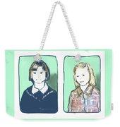 Awkwardness Of Youth Weekender Tote Bag
