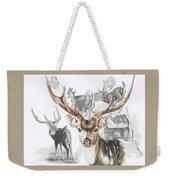 Axis Deer Weekender Tote Bag