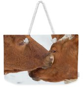 Ayrshire Affection Weekender Tote Bag