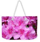 Azalea Floral Garden Fine Art Photography Baslee Troutman Weekender Tote Bag