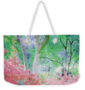 Azalea Flowers And Tree Coral  Weekender Tote Bag