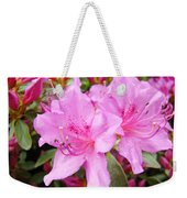 Azalea Garden Art Prints Pink Azaleas Flowers Baslee Troutman Weekender Tote Bag