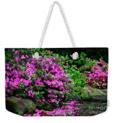 Azalea Waterfall At The Azalea Festival Weekender Tote Bag