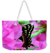 Azalea With Butterfly Weekender Tote Bag