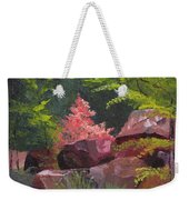 Azaleas - Sun And Shadow Weekender Tote Bag
