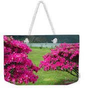 Azaleas At The Azores Weekender Tote Bag