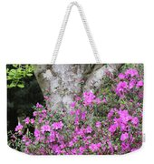 Azaleas With Tree Weekender Tote Bag