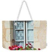 Azay Le Rideau Bridge, Window, Lace Weekender Tote Bag