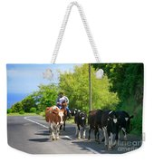 Azorean Farmer Weekender Tote Bag
