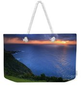 Azores Islands Sunset Weekender Tote Bag
