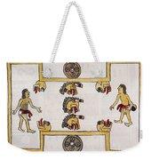 Aztec Ball Game Weekender Tote Bag