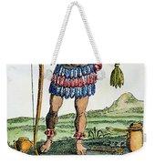 Aztec: Chocolate, 1685 Weekender Tote Bag