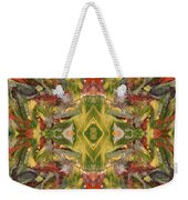 Aztec Kaleidoscope - Pattern 001 - Desert Weekender Tote Bag