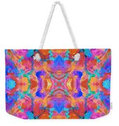 Aztec Kaleidoscope - Pattern 015 Weekender Tote Bag