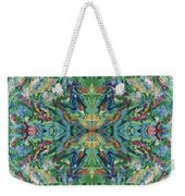 Aztec Kaleidoscope - Pattern 018 - Earth Weekender Tote Bag