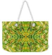 Aztec Kaleidoscope - Pattern 018 - Lemonlime Weekender Tote Bag